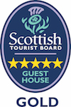 5 Star Guest House Gold Logo