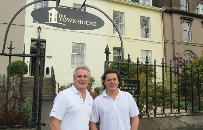The Townhouse Perth _ Gallery _ Owners David and Laurent