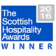 Scottish Hospitality Awards Winners logo